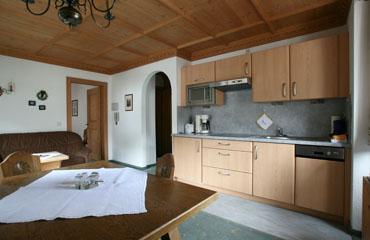 Wohnzimmer Appartement Rendl